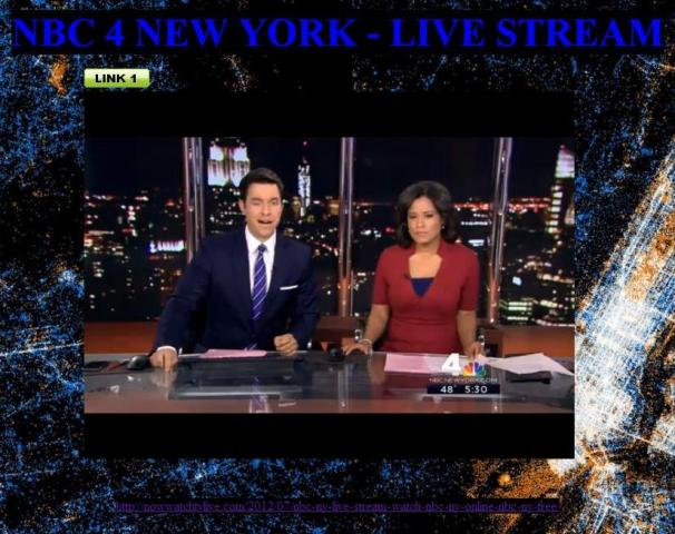 NBC 4 NEW YORK - live stream